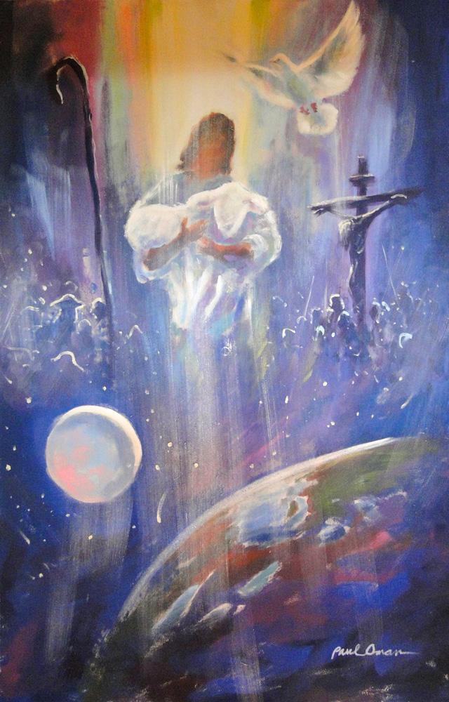 For God So Loved The World-Mural