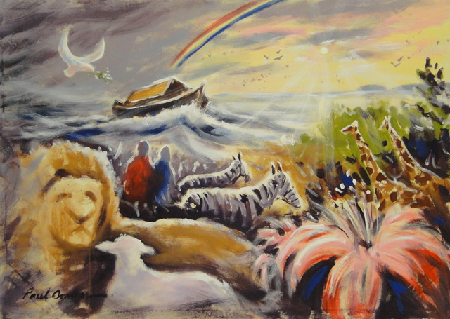 Noahs Ark-Mural