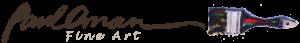 Paul Oman Fine Art Website logo