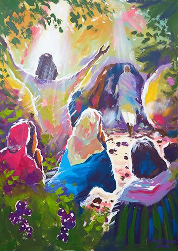 The Raising of Lazarus - Print - Biblical Art