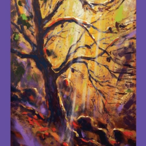 Lenten banner from Paul Oman Fine Art